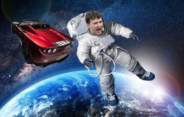 Савченко в космосі