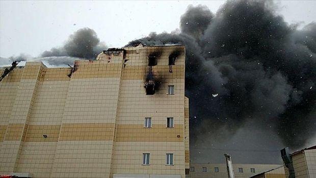 Фото пожежі в Кемерово