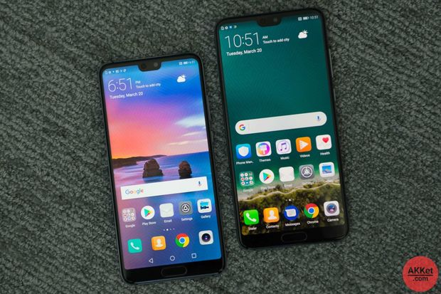 Смартфони Huawei P20 і P20 Pro