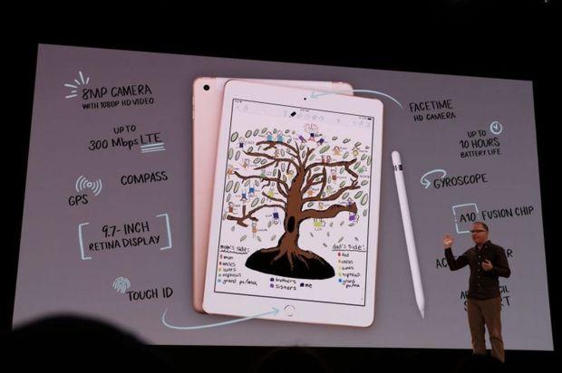 Apple офіційно представила свій найдоступніший iPad