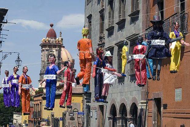 Святкування Великодня у Мексиці