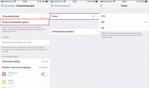 4G, Україна, інтернет, мобільний зв'язок, мобільні пристрої, Iphone, налаштування