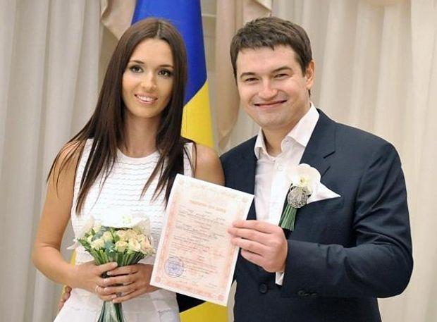 Андрій Ющенко одружився з Лізою Єфросініною у 2014 році