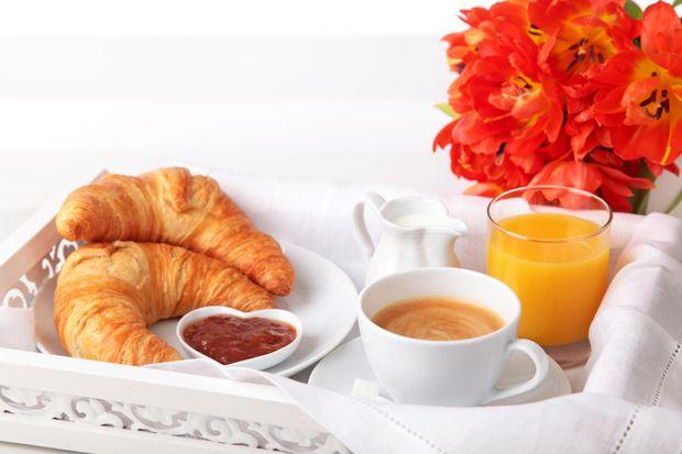 Легкий сніданок у Франції