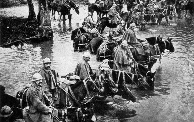 Історичне фото Верденської битви