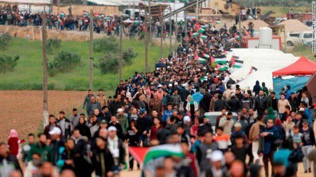 Протести в Секторі Газа