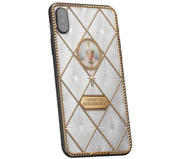Caviar iPhone X Credo Папа Римський