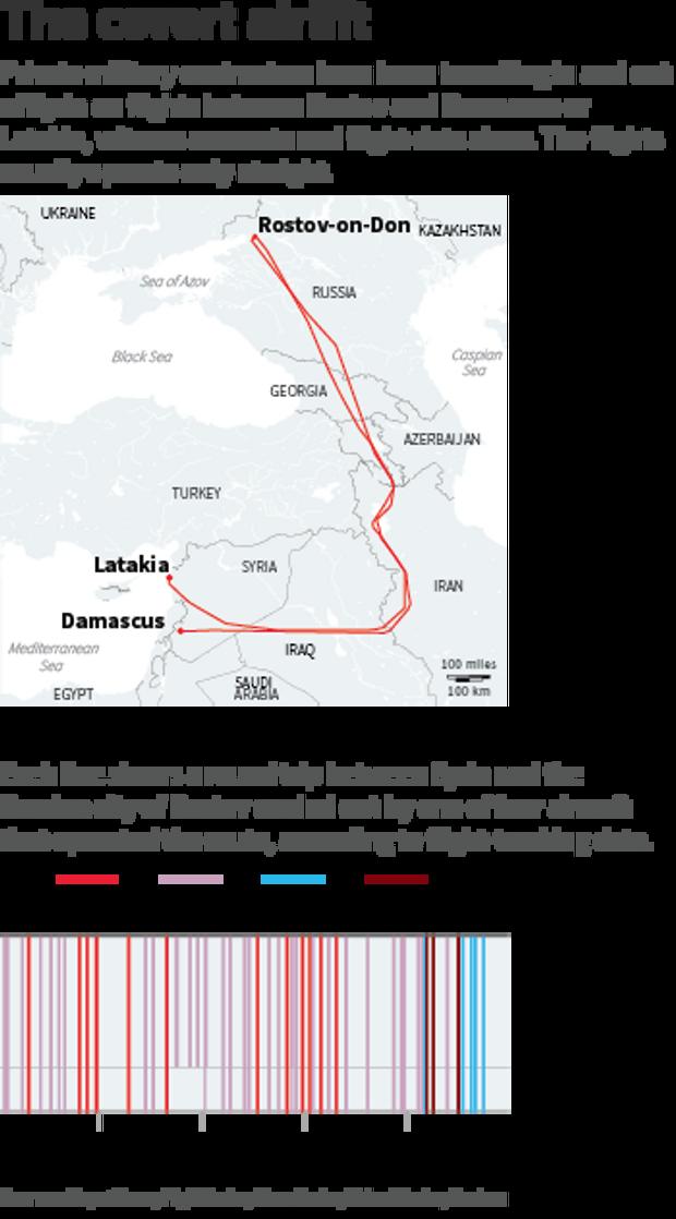 Росія таємно возить найманців до Сирії