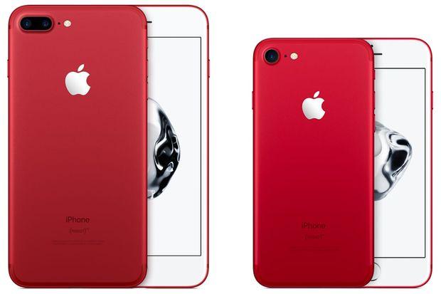Червоний iPhone 8 та iPhone 8 Plus