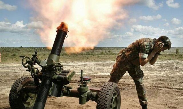 В АТО по-прежнему напряженная ситуация: боевики палят из запрещенного оружия