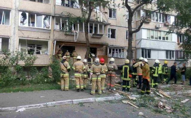 Стало известно о жертвах в результате взрыва в Киеве