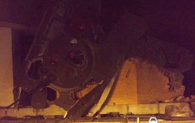 В оккупированном Луганске взорвали памятник террористам: появились фото