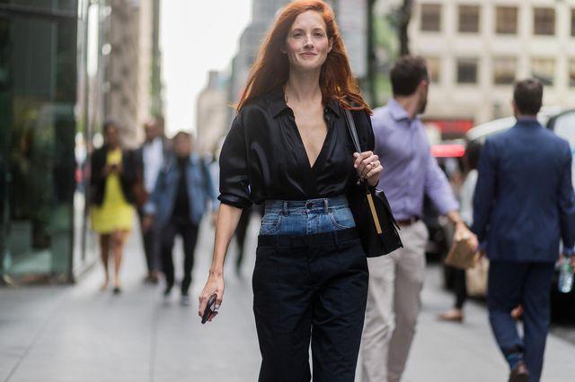 В модном мире новый странный тренд: брюки в брюках