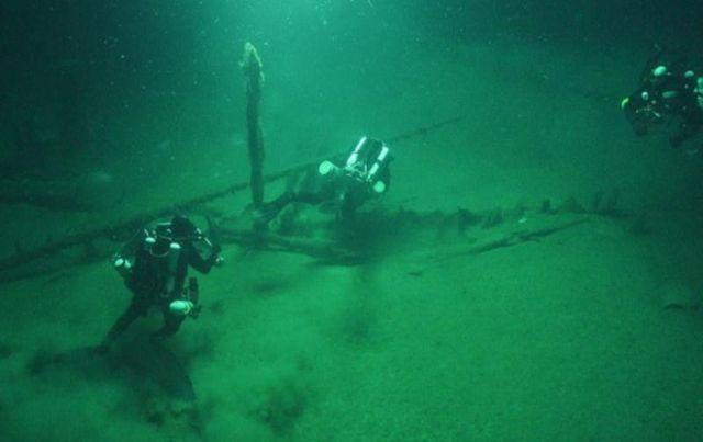 В Черном море нашли десятки древних кораблей различных эпох