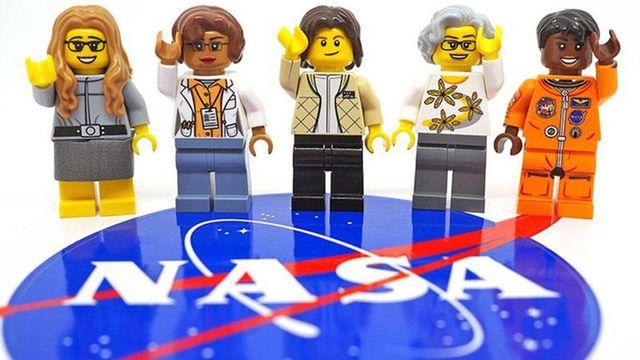 В космос летают не только мужчины: Lego создала фигурки женщин с NASA