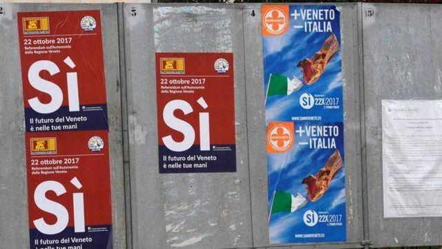 Два итальянские регионы проголосовали на референдуме за большую независимость от Рима