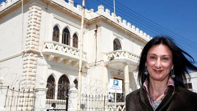 На Мальте тысячи людей требовали справедливо расследовать убийство журналистки