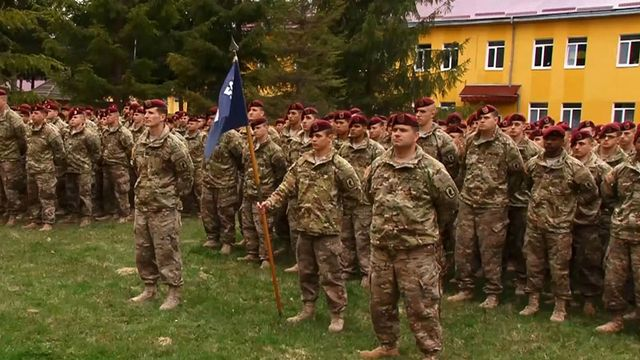 Американцы привезли свою технику на Яворовский полигон - Телеканал новостей 24