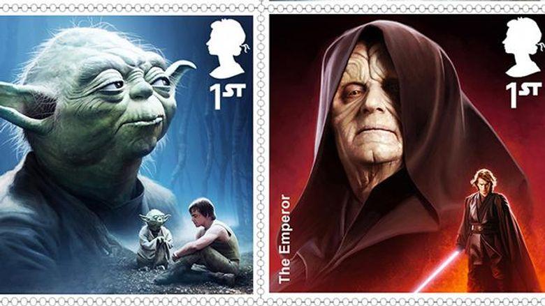 Новые марки от Королевской почты Великобритании